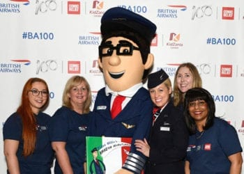 Pilot Ollie at KIDZANIA
