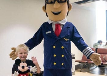 Pilot Ollie off to Florida